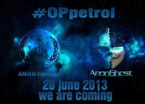 #OpPetrol (June 20, 2013)