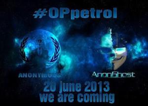 #OpPetrol (June 20, 2013)