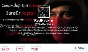 RedHack's official Twitter account