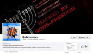 """Qods Freedom"" Facebook page"