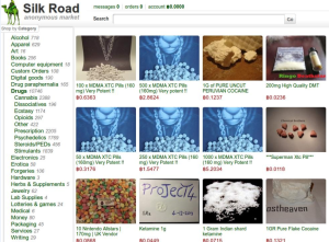 Silk Road - the infamous online market on Darknet