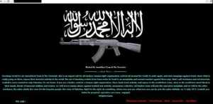 Pro-Palestinian hackers defacing Israeli websites