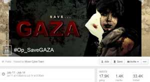 OpSaveGaza - Facebook Event