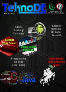 September 2014 issue of TeknoDE