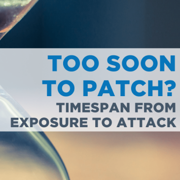 TIMESPAN FROM EXPOSURE TO ATTACK