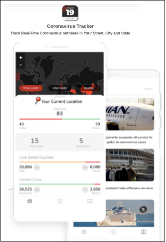 coronavirus-app-site
